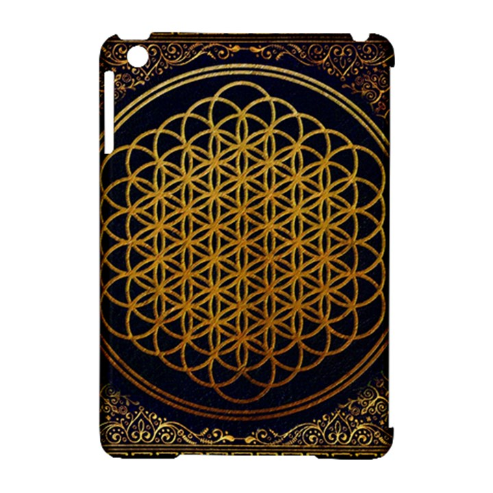 Bring Me The Horizon Cover Album Gold Apple iPad Mini Hardshell Case (Compatible with Smart Cover)