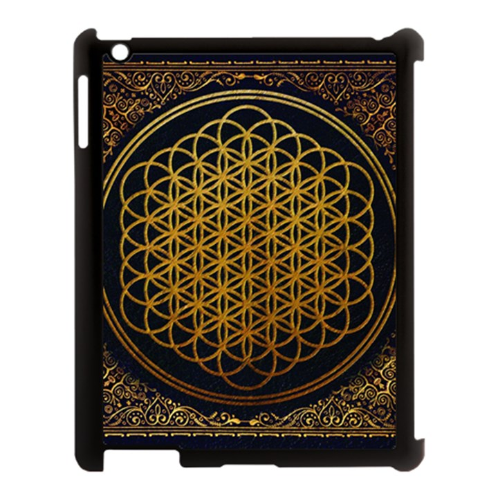 Bring Me The Horizon Cover Album Gold Apple iPad 3/4 Case (Black)