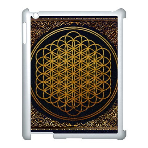Bring Me The Horizon Cover Album Gold Apple iPad 3/4 Case (White)