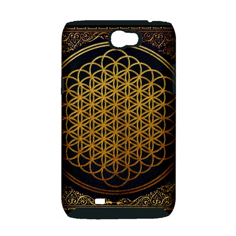 Bring Me The Horizon Cover Album Gold Samsung Galaxy Note 2 Hardshell Case (PC+Silicone)