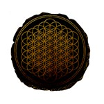 Bring Me The Horizon Cover Album Gold Standard 15  Premium Round Cushions Back