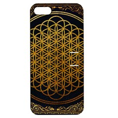 Bring Me The Horizon Cover Album Gold Apple Iphone 5 Hardshell Case With Stand