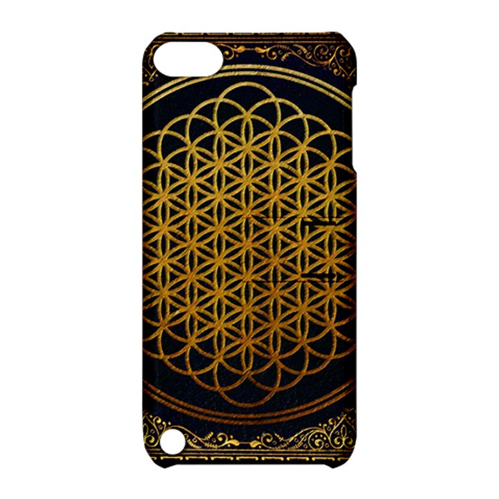 Bring Me The Horizon Cover Album Gold Apple iPod Touch 5 Hardshell Case with Stand