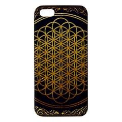 Bring Me The Horizon Cover Album Gold Apple Iphone 5 Premium Hardshell Case