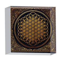 Bring Me The Horizon Cover Album Gold 5  x 5  Acrylic Photo Blocks