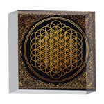 Bring Me The Horizon Cover Album Gold 5  x 5  Acrylic Photo Blocks Front