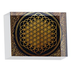 Bring Me The Horizon Cover Album Gold 5 x 7  Acrylic Photo Blocks