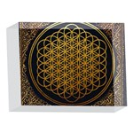 Bring Me The Horizon Cover Album Gold 5 x 7  Acrylic Photo Blocks Front