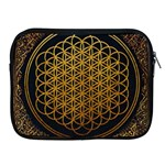 Bring Me The Horizon Cover Album Gold Apple iPad 2/3/4 Zipper Cases Front