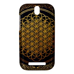 Bring Me The Horizon Cover Album Gold HTC One SV Hardshell Case