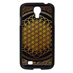 Bring Me The Horizon Cover Album Gold Samsung Galaxy S4 I9500/ I9505 Case (Black) Front