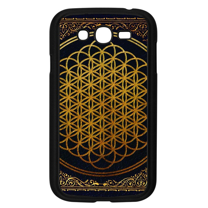 Bring Me The Horizon Cover Album Gold Samsung Galaxy Grand DUOS I9082 Case (Black)