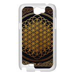 Bring Me The Horizon Cover Album Gold Samsung Galaxy Note 2 Case (White) Front