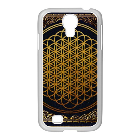 Bring Me The Horizon Cover Album Gold Samsung GALAXY S4 I9500/ I9505 Case (White)