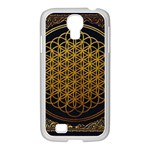 Bring Me The Horizon Cover Album Gold Samsung GALAXY S4 I9500/ I9505 Case (White) Front