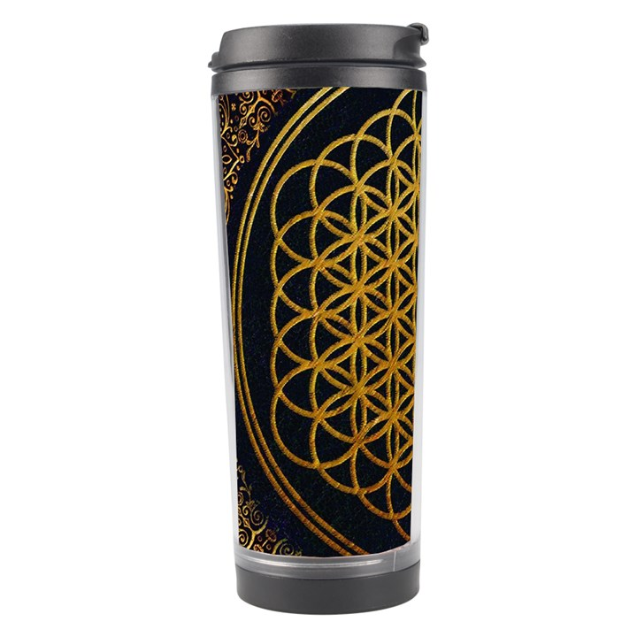 Bring Me The Horizon Cover Album Gold Travel Tumbler