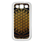 Bring Me The Horizon Cover Album Gold Samsung Galaxy S3 Back Case (White) Front