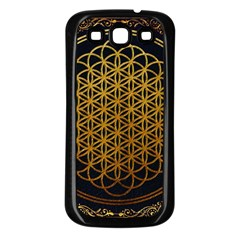 Bring Me The Horizon Cover Album Gold Samsung Galaxy S3 Back Case (black)