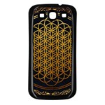 Bring Me The Horizon Cover Album Gold Samsung Galaxy S3 Back Case (Black) Front