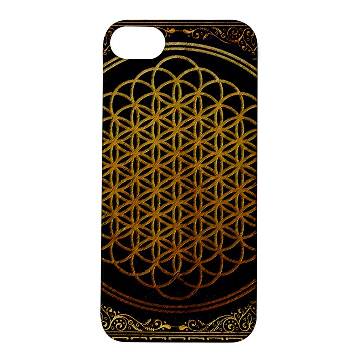 Bring Me The Horizon Cover Album Gold Apple iPhone 5S/ SE Hardshell Case