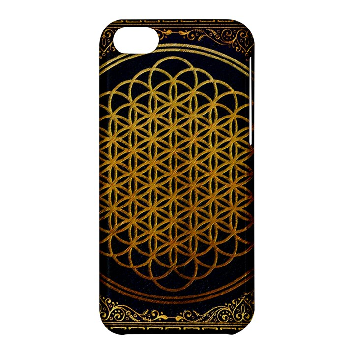 Bring Me The Horizon Cover Album Gold Apple iPhone 5C Hardshell Case