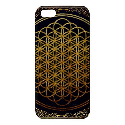 Bring Me The Horizon Cover Album Gold iPhone 5S/ SE Premium Hardshell Case