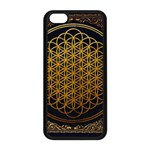 Bring Me The Horizon Cover Album Gold Apple iPhone 5C Seamless Case (Black) Front