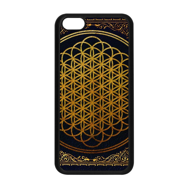 Bring Me The Horizon Cover Album Gold Apple iPhone 5C Seamless Case (Black)