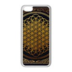 Bring Me The Horizon Cover Album Gold Apple iPhone 5C Seamless Case (White) Front