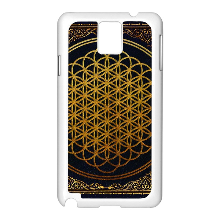 Bring Me The Horizon Cover Album Gold Samsung Galaxy Note 3 N9005 Case (White)