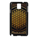 Bring Me The Horizon Cover Album Gold Samsung Galaxy Note 3 N9005 Case (Black) Front