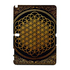 Bring Me The Horizon Cover Album Gold Samsung Galaxy Note 10.1 (P600) Hardshell Case