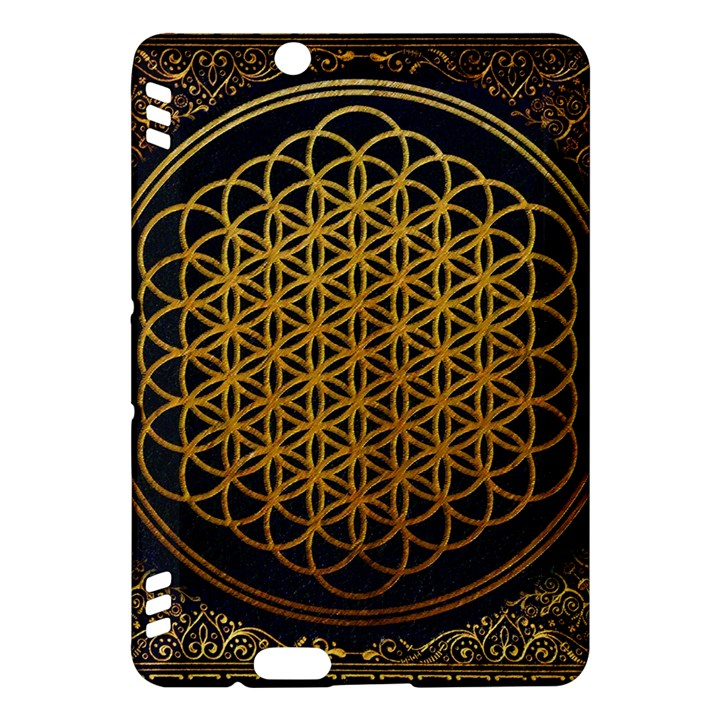 Bring Me The Horizon Cover Album Gold Kindle Fire HDX Hardshell Case