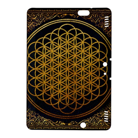 Bring Me The Horizon Cover Album Gold Kindle Fire HDX 8.9  Hardshell Case
