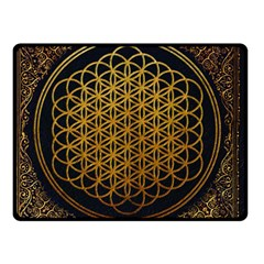 Bring Me The Horizon Cover Album Gold Double Sided Fleece Blanket (Small)