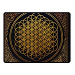 Bring Me The Horizon Cover Album Gold Double Sided Fleece Blanket (Small)  50 x40 Blanket Back