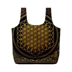 Bring Me The Horizon Cover Album Gold Full Print Recycle Bags (M)  Back