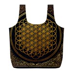Bring Me The Horizon Cover Album Gold Full Print Recycle Bags (L)  Back