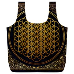 Bring Me The Horizon Cover Album Gold Full Print Recycle Bags (L)