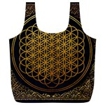 Bring Me The Horizon Cover Album Gold Full Print Recycle Bags (L)  Front