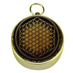 Bring Me The Horizon Cover Album Gold Gold Compasses Front
