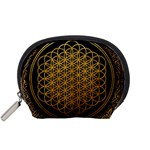 Bring Me The Horizon Cover Album Gold Accessory Pouches (Small)  Front