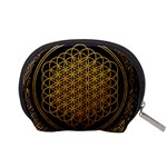 Bring Me The Horizon Cover Album Gold Accessory Pouches (Small)  Back