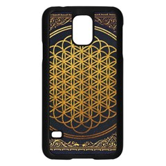 Bring Me The Horizon Cover Album Gold Samsung Galaxy S5 Case (black)