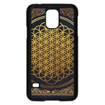 Bring Me The Horizon Cover Album Gold Samsung Galaxy S5 Case (Black) Front