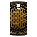 Bring Me The Horizon Cover Album Gold Samsung Galaxy S5 Back Case (White) Front