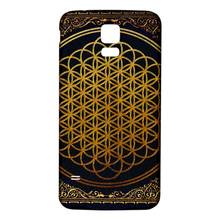 Bring Me The Horizon Cover Album Gold Samsung Galaxy S5 Back Case (White)