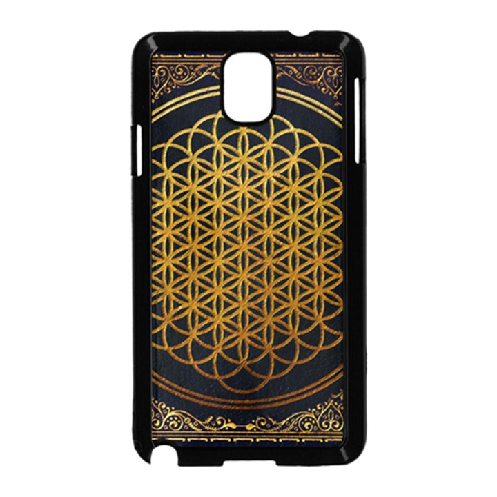 Bring Me The Horizon Cover Album Gold Samsung Galaxy Note 3 Neo Hardshell Case (Black)
