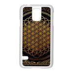 Bring Me The Horizon Cover Album Gold Samsung Galaxy S5 Case (White) Front