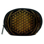 Bring Me The Horizon Cover Album Gold Accessory Pouches (Medium)  Front